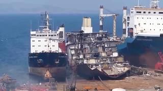 Последнее пристанище кораблей Последний гудок Выброска судов на берег