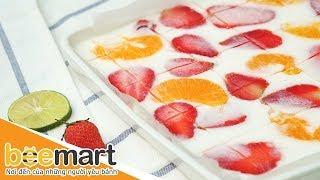 Cách làm sữa chua dẻo trái cây ngon (fruit soft yogurt) -  BEEMART