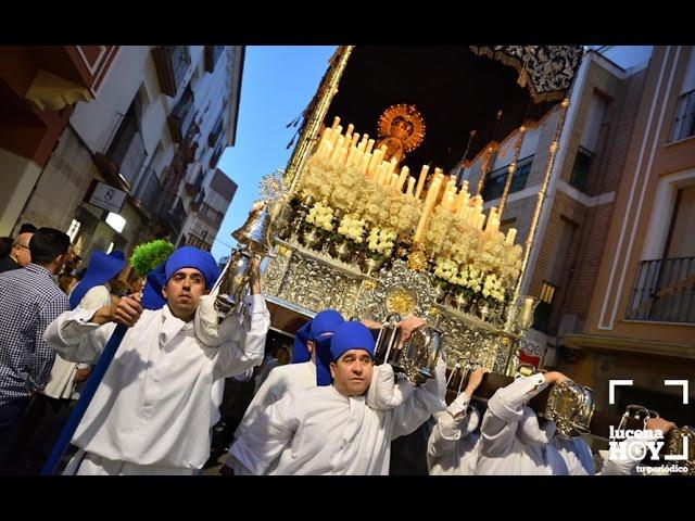 VÍDEO: SEMANA SANTA 2017: Lunes Santo en Lucena: Pasión Franciscana