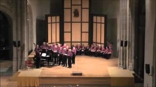 The Cranmer Company of Singers Performing at San Francisco - Avila - Spain