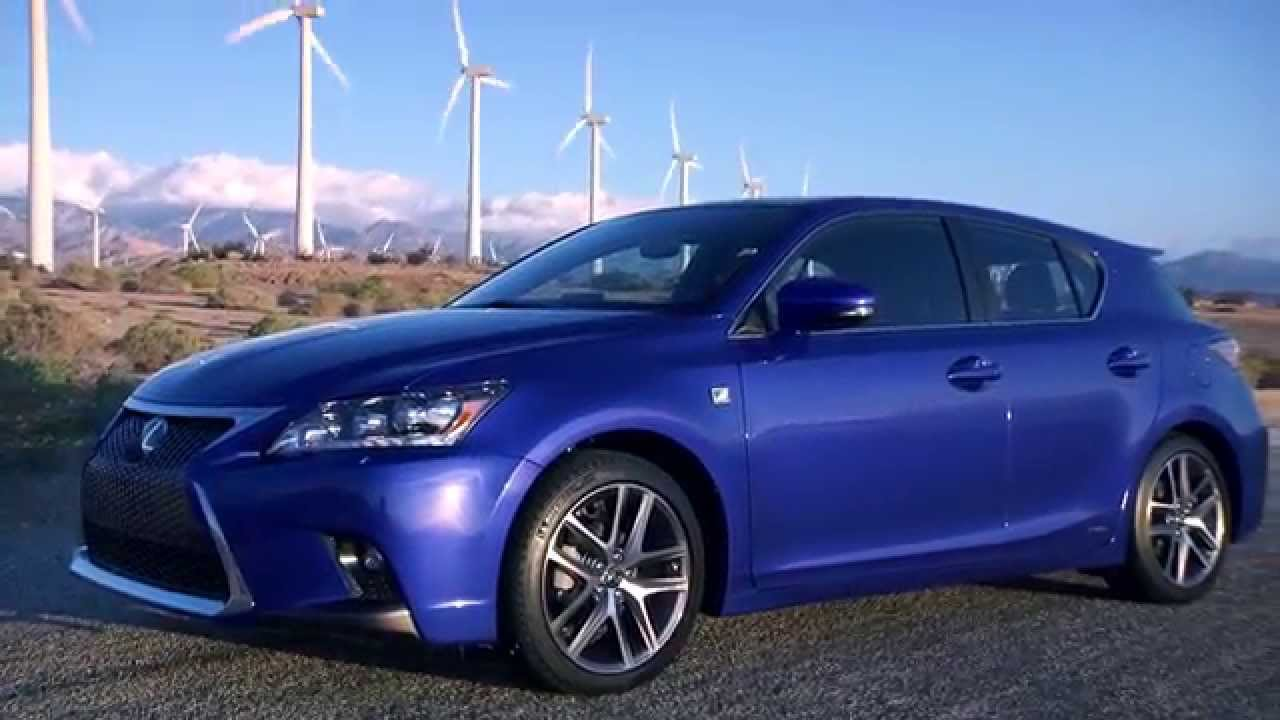 The 2016 Lexus Ct Walkaround Video First Look At 200h