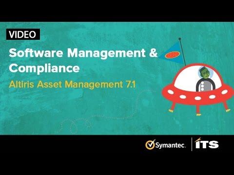 Software License Management & Compliance. Altiris Asset Mangement Suite 7.1