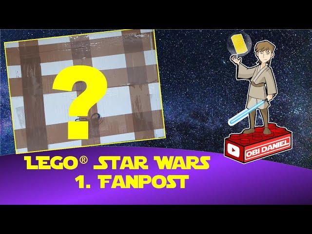 Meine erste Fanpost - natürlich Lego Star Wars