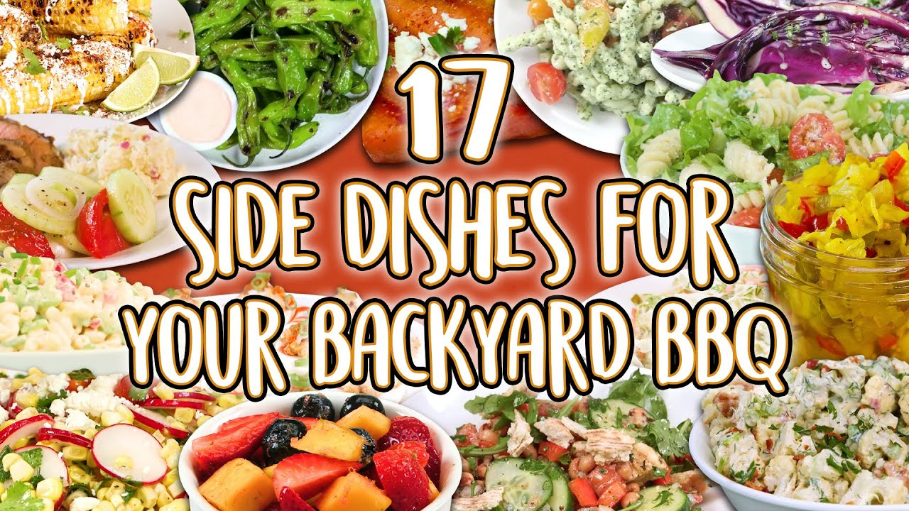 28 Best Side Dishes for Your Backyard Barbecue  Cookout Sides Recipe Super  Compilation
