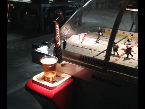 Best Bubble Hockey Table Ever Built