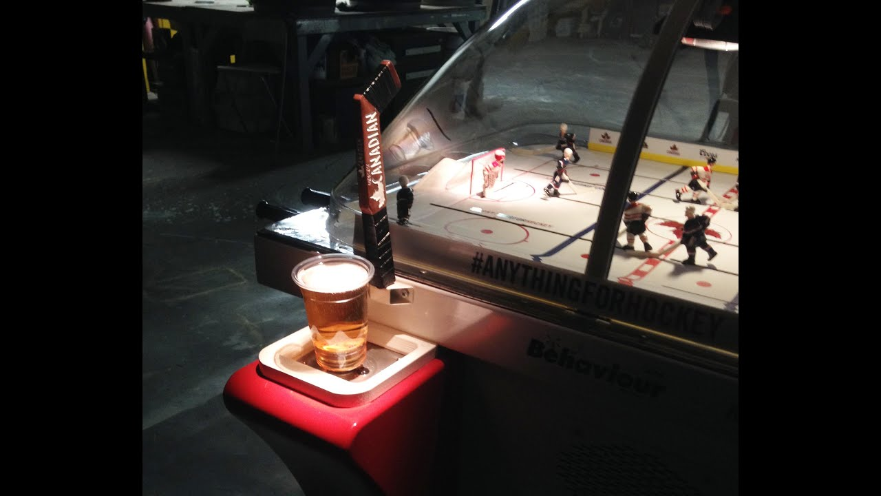 Best Bubble Hockey Table Ever Built   YouTube