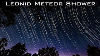 Leonid Meteor Shower 2019 [PEAK REPLAY]