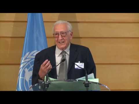 Lakhdar Brahimi on Building Just and Peaceful Societies