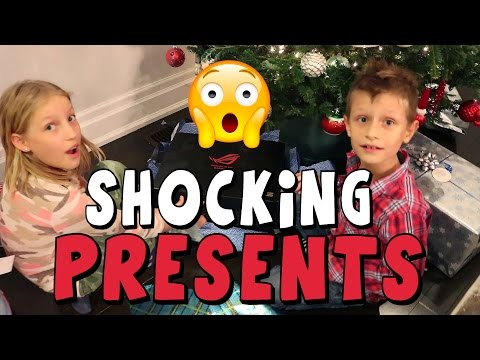 Opening Christmas PRESENTS!!!!!