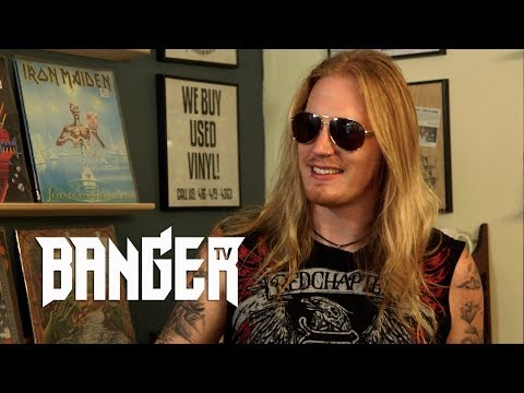 DRAGONFORCE singer Marc Hudson interview 2017