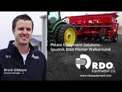 RDO Equipment Co. And Spudnik 8060 Planter Walkaround