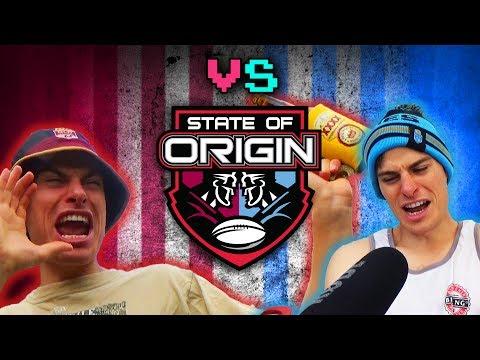 Maroons Fans VS. Blues Fans - STATE OF ORIGIN