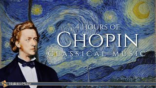 4 Hours Chopin for Studying, Concentration & Relaxation