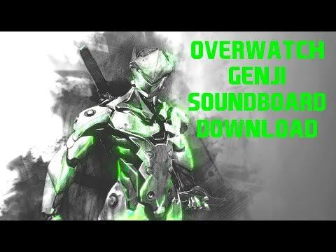 OVERWATCH SOUNDBOARD [GENJI] | (Download in Description)