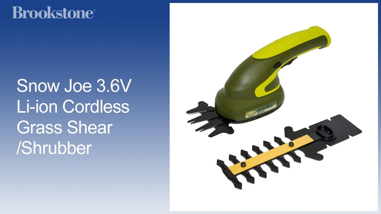 Lightw Cordless Netta 7.2V 2 In 1 Grass Shear Shrubs Cutter And Hedge Trimmer