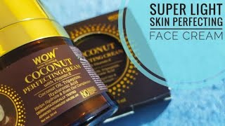 *New* Wow Skin Science Coconut Perfecting Cream For Face || Face Cream For All Skin Types ||
