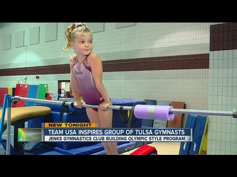 Team USA Inspires Tulsa Gymnasts To Look To Their Own Olympic Dreams