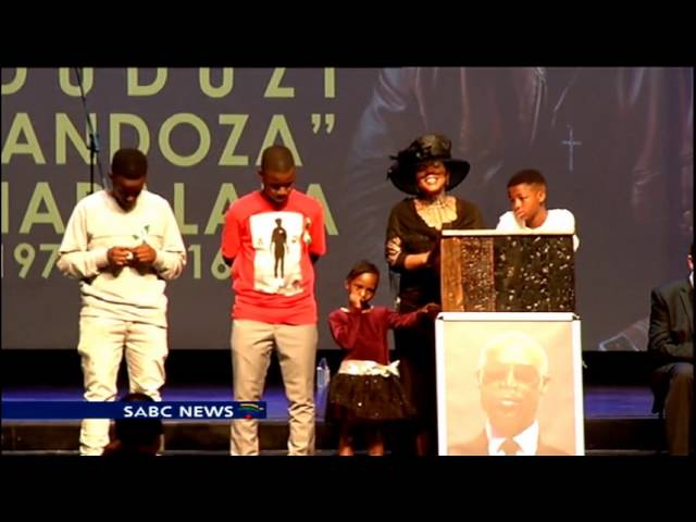 Mandoza's wife Mpho pays tribute to her late South African musician husband.