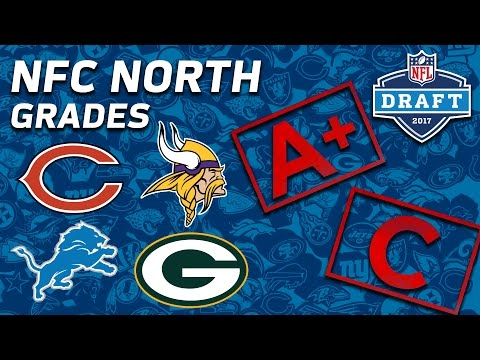Packers, Bears, Vikings, & Lions | NFC North 2017 NFL Draft Grades | NFL NOW