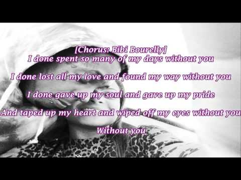 Lil Wayne without you lyrics