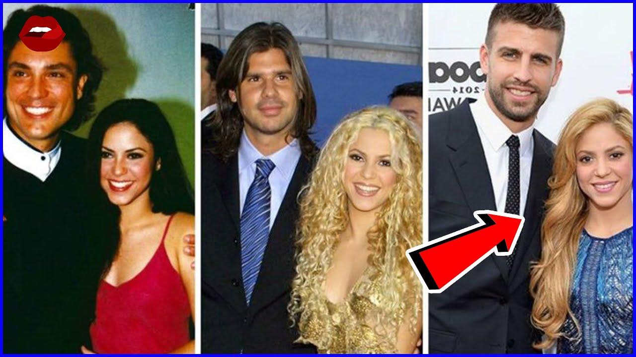 Conoce los Amoríos de Shakira Antes de Comprometerse   #FamososAD
