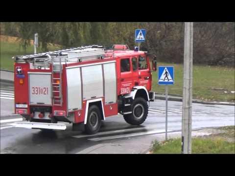 Wyjazdy, przejazdy i dojazdy na sygnale Straży Pożarnej w Bielsku-Białej