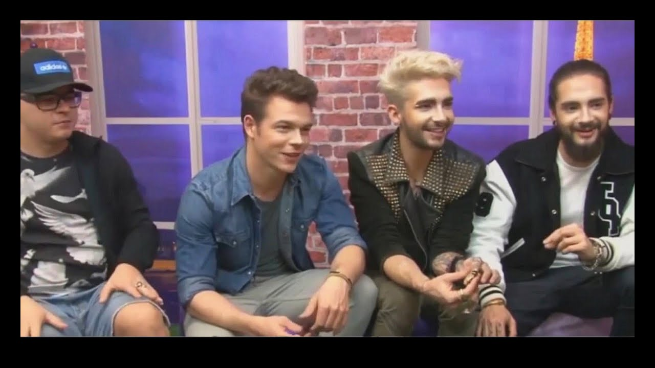 Interview With Tokio Hotel Capricho Tv In Brazil 27.08