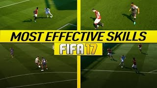 FIFA 17 MOST EFFECTIVE SKILLS TUTORIAL - BEST MOVES TO USE IN FIFA 17 - BECOME A DIVISION 1 PLAYER