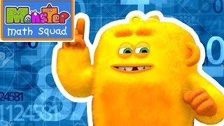 Cartoons for Kids | Monster Math Squad | FULL EPISODE | Monster Hat Mayhem