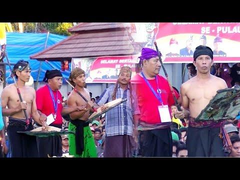 Pertandingan Peresean Perang Bintang Di Balai Budaya Narmada Lombok Barat__Part 2