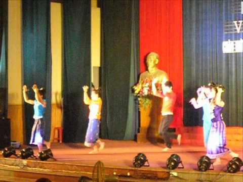 Múa Tỉnh đoàn kết Việt Lào  Ngày Nhà giáo VN 20 11 2011  Dance on VN Teacher