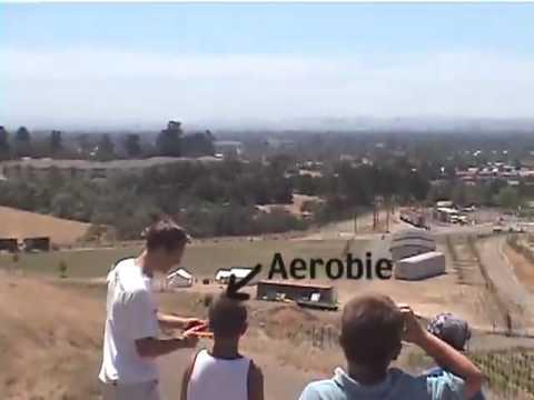 Aerobie Record Throw 2001