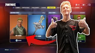 FAZE TFUE's FAVORITE SKIN! Default Skin/No Backbling AFTER Fortnite Season 5! THIS SKIN IS COMP NOW