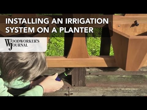 Setting Up a Hanging Planter Irrigation System