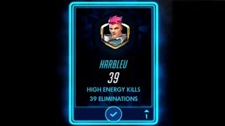 ONLY HIGH ENERGY KILLS! ft. NUMLOCKED - Overwatch