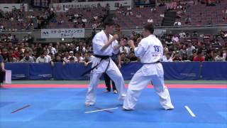 【JFKO】第1回全日本フルコンタクト空手道選手権大会 男子中量級 4回戦