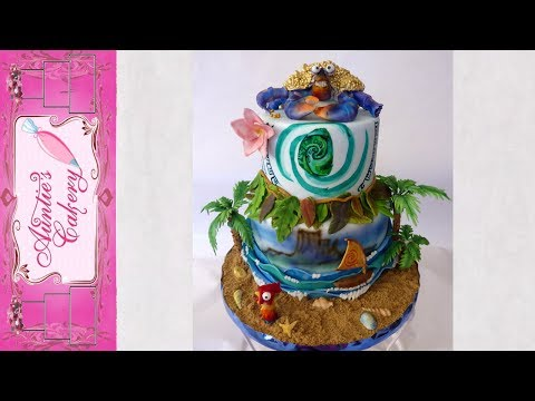 Disney's Moana Cake Full video
