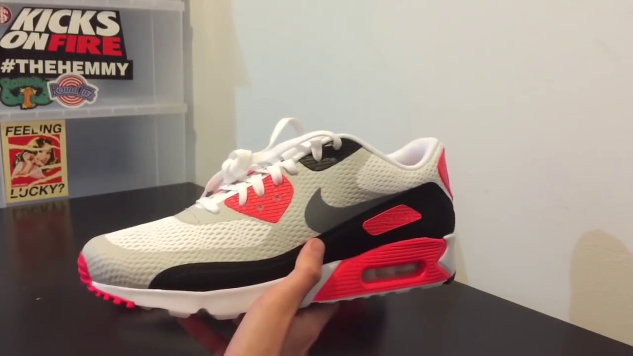 Air Max 90 Ultra Infrared On Feet
