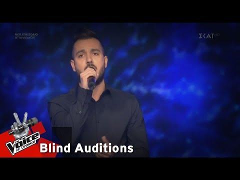 Γιάννης Στυλιανού – Της Άρνης το νερό | 6o Blind Audition | The Voice of Greece