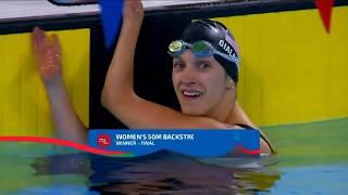 Alyssa Gialamas Sets 50m Backstroke Parapan Record | Parapan American Games Lima 2019