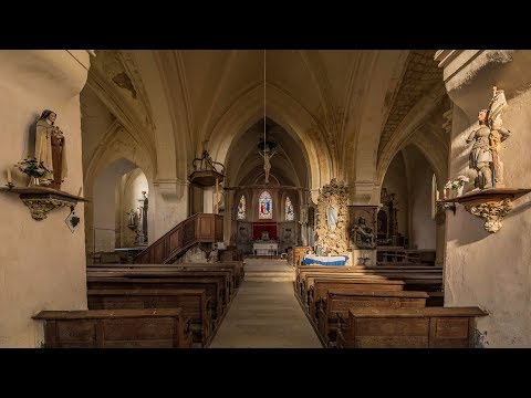 Abandoned Church In France Found The Priests Cope (Mantel)
