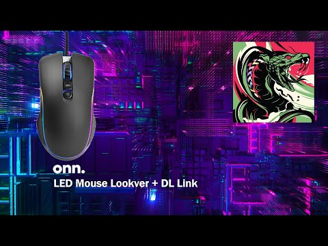 ONN Gaming Mouse Lookover + DL Link