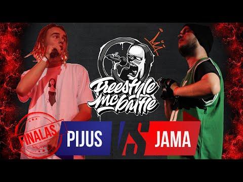 PIJUS VS JAMA   FINALAS   FREESTYLE MC BATTLE 2019