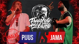 PIJUS VS JAMA | FINALAS | FREESTYLE MC BATTLE 2019