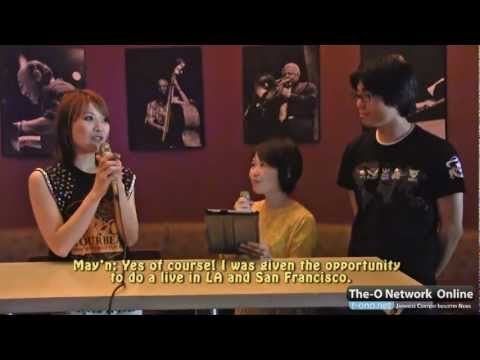 May'n Interview @ S.F Rock Your Beats World Tour