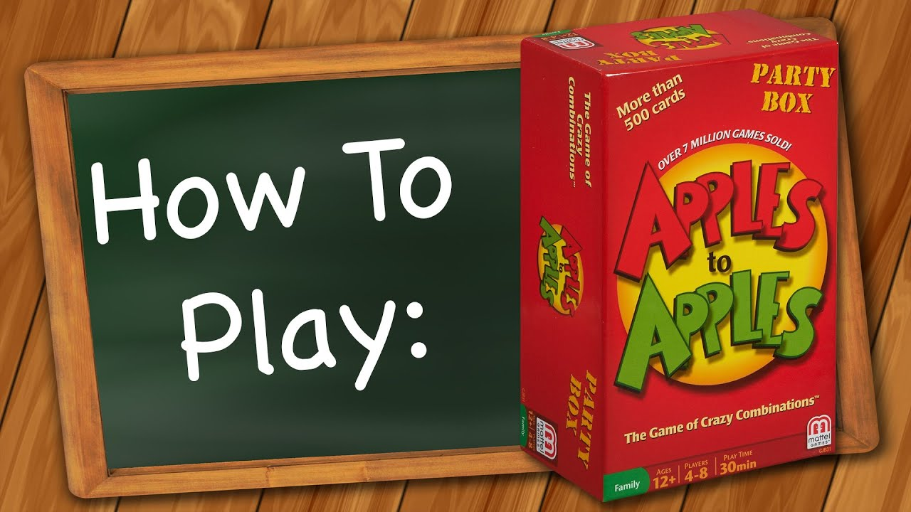 How To Play Apples To Apples Youtube