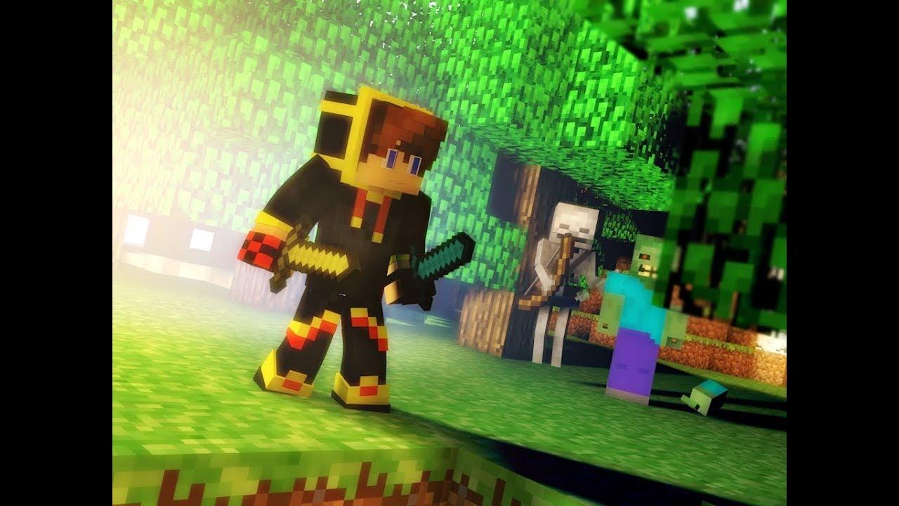 Cinema 12D Speed Rendering Minecraft Skin GIFZTECH CZ With Skeleton