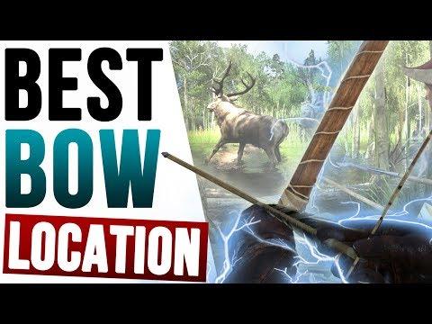 Kingdom Come Deliverance - BEST BOW Location (Yew & Ash Longbow Archer Treasure Map 1 Chest)