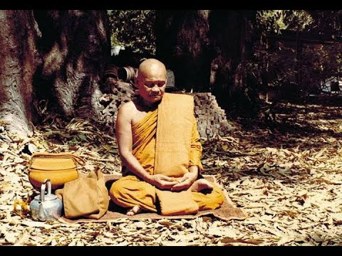 Ajahn Chah - Speaking Straight on Meditation and Sila (in Thai & English)