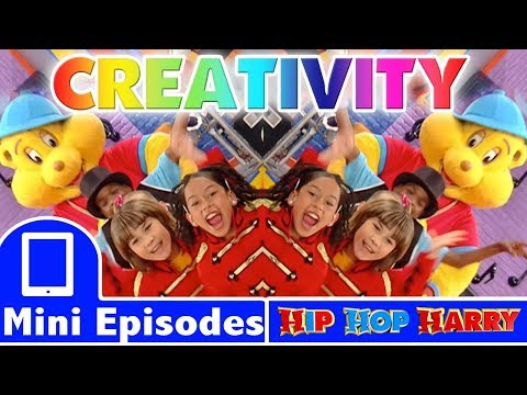 Be Creative & Use Your Imagination | Ft. Sophina The Diva | Hip Hop Harry Mini Episode Compilation